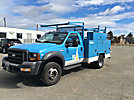 2005 Ford F450 4x4 Enclosed Service Truck