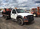 2005 Ford F450 4x4 Flatbed Truck