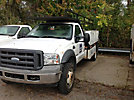 2005 Ford F450 Flatbed Truck
