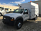 2005 Ford F550 4x4 Enclosed High-Top Service Truck