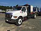 2005 Ford F750 Flatbed Truck