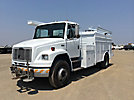 2005 Freightliner FL70 Air Compressor/Enclosed Utility Truck