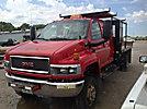 2005 GMC C5500 4x4 Crew-Cab Flatbed Truck