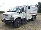 2005 GMC C6500 Dump Chipper Truck