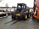 2005 New Holland LS190 Rubber Tired Skid Steer Loader