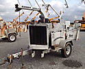 2005 Performance First Brush Bandit 200+XP Chipper (12 Disc), trailer mtd