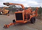 2005 Wood Chuck Hyroller 1200 Chipper (12 Disc), trailer mtd