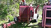 2005 Wood Chuck Hyroller 1200 Chipper (12 Disc), trailer mtd