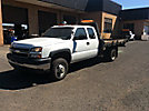 2006 Chevrolet K3500 4x4 Extended-Cab Flatbed Truck
