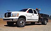 2006 Dodge W3500 4x4 Crew-Cab Flatbed Truck
