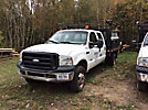 2006 Ford F350 4x4 Crew-Cab Flatbed Truck