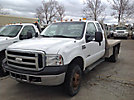 2006 Ford F350 4x4 Extended-Cab Flatbed Truck