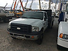 2006 Ford F350 4x4 Flatbed Truck