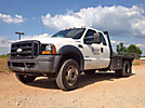 2006 Ford F450 4x4 Extended-Cab Flatbed Truck