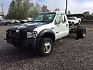 2006 Ford F550 4x4 Cab & Chassis