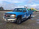2006 GMC C2500HD Service Truck, 4887 hours CNG / 904 hours gasoline