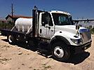 2006 International 7400 Flatbed Truck, 1025 gallon water tank