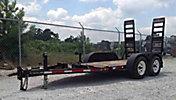 2006 PROHAULER 510RCXT T/A Tagalong Equipment Trailer