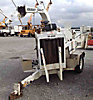 2006 Performance First Brush Bandit 200+XP Chipper (12 Disc), trailer mtd