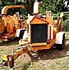 2006 Wood Chuck Hyroller 1200 Chipper (12 Disc), trailer mtd