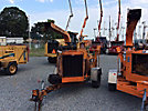 2006 Wood Chuck Hyroller 1200 Chipper (12 Disc), trailer mtd