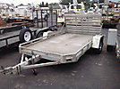 2007 Aluma-Line 6'x12' Aluminum S/A Tagalong Trailer, with ramp