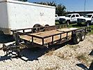 2007 Big Tex 12LP T/A Tagalong Flatbed Trailer