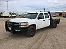 2007 Chevrolet K2500HD 4x4 Crew-Cab Flatbed Truck