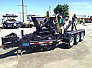 2007 Condux URW24 Hydraulic Reel Winder, trailer mtd 24,000GVWR, fittings are SAE specifications.