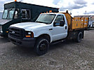 2007 Ford F350 4x4 Flatbed Truck