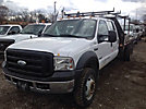 2007 Ford F450 4x4 Crew-Cab Flatbed Truck
