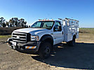 2007 Ford F450 4x4 Enclosed Service Truck