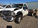 2007 Ford F550 4x4 Cab & Chassis