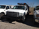 2007 Ford F550 4x4 Crew-Cab Flatbed Truck