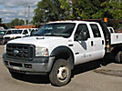 2007 Ford F550 4x4 Flatbed Truck