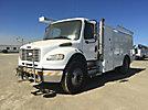 2007 Freightliner M2 106 Air Compressor/Enclosed Utility Truck,