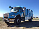 2007 Freightliner M2 106 Air Compressor/Enclosed Utility Truck