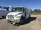 2007 Freightliner M2 106 Air Compressor/Enclosed Utility Truck