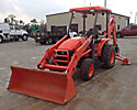 2007 Kubota L39 4x4 Tractor Loader Backhoe