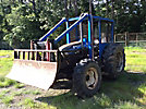 2007 New Holland TB110 4x4 Utility Tractor