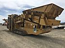 2007 Screen Machine Industries D516T-Spyder-1 Crawler Aggregate Double Deck Screening Plant, s/n JG2096, Cummins 110 hp diesel, hydraulic drive, with 3-sides can be loaded in the 11 cu. yd. 15' 6 x 7'6feed ...