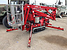 2007 Teupen Hy-Lift LEO 15-GT, 50' Compact Articulating & Telescopic Non-Insulated Crawler Man Lift, s/n 140597, Kubota diesel, hydrostatic with rubber tracks, walk behind controls & 4 hyd outriggers ...