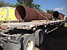 2007 Utility FS2CHA T/A High Flatbed Trailer