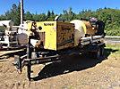2007 Vermeer E800 Evacuator Vacuum Excavation Unit, trailer mtd