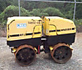 2007 Wacker RT83 Articulating Trench Compactor, s/n 5732590, Lombardini diesel, with remote (Reads 486 Hours)