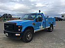 2008 Ford F250 4x4 Enclosed Service Truck