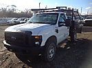 2008 Ford F250 4x4 Flatbed Truck