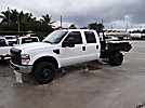 2008 Ford F350 4x4 Crew-Cab Flatbed Truck, Mechanical Problems