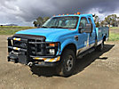 2008 Ford F350 4x4 Extended-Cab Service Truck