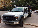 2008 Ford F450 4x4 Crew-Cab Flatbed Truck
